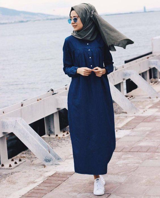 صورة صور ملابس محجبات كاجول , مشوفتش اشيك من كدا ملابس جنان