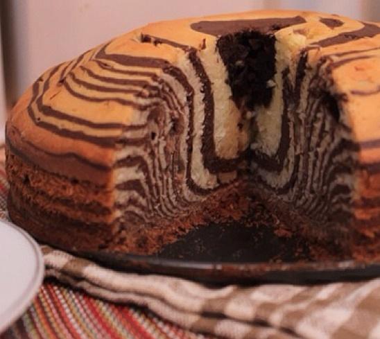 صورة الكيكة الرخامية بالصور , واو الكيكه الرخاميه بطريقه سهله جدا