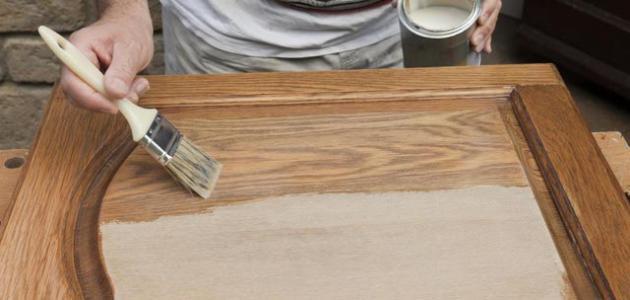 صورة صبغ الخشب بالصور , طرق وخطوات صبغ الاخشاب بالتفصيل بالصور