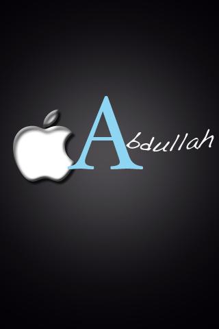 كلمة عبدالله بالانجليزي اسم عبدالله بالانجليزية رهيبه