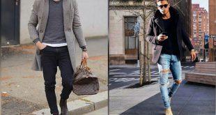 صورة لبس شتوي رجالي , احدث موضة لملابس الرجال