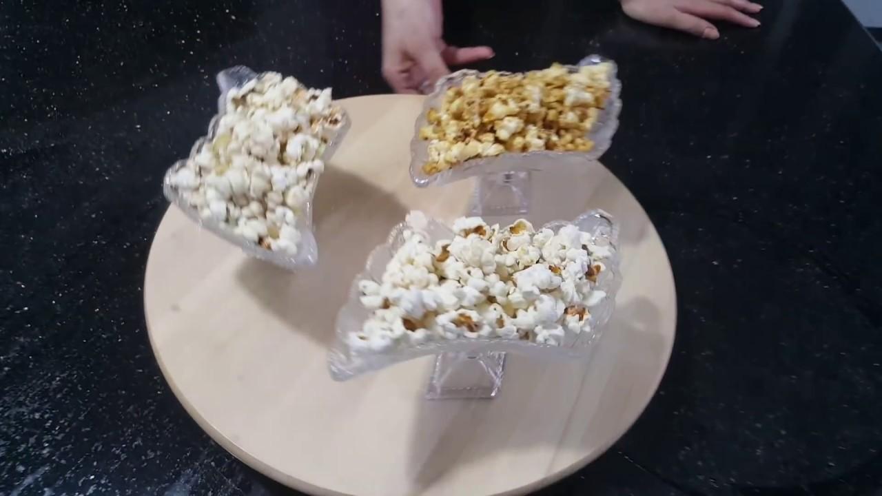 صورة طريقة عمل الفشار بالنكهات , اطعمة جديدة وشهية للفشار