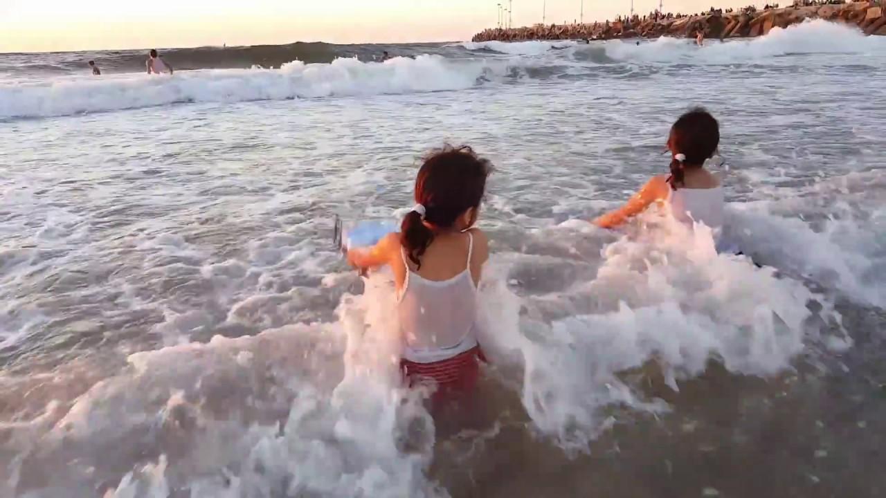 صورة صور اطفال على البحر , اذا رايت تلك الصور ستشتاق الي البحر بالتاكيد