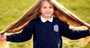 تطويل شعر الاطفال , طرق تطويل شعر الاطفال