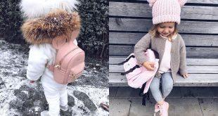 صورة ملابس اطفال شتويه بناتي , اجعلي ابنتك انيقة في الشتاء