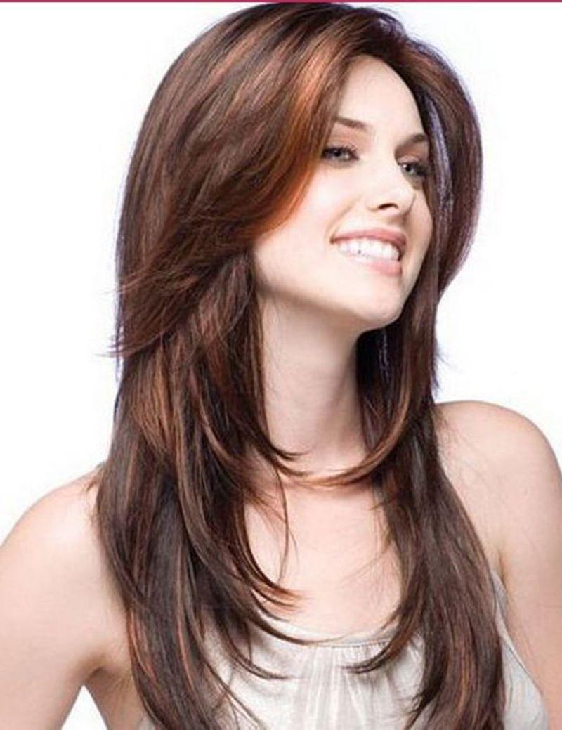 صورة قصات شعر طويل للبنات , اجعلي شعرك تاج لراسك