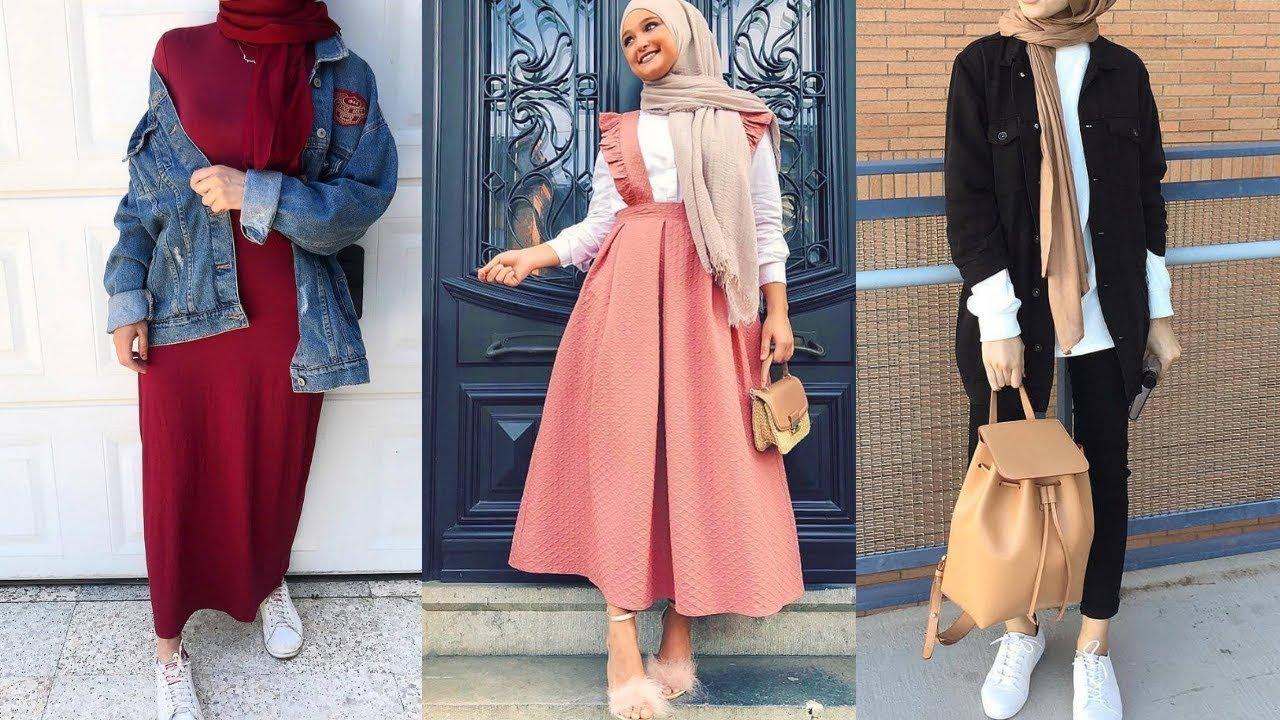 صورة تنسيق الملابس للمحجبات , افكار تجعل ملابس المحجبات بشكل مميز
