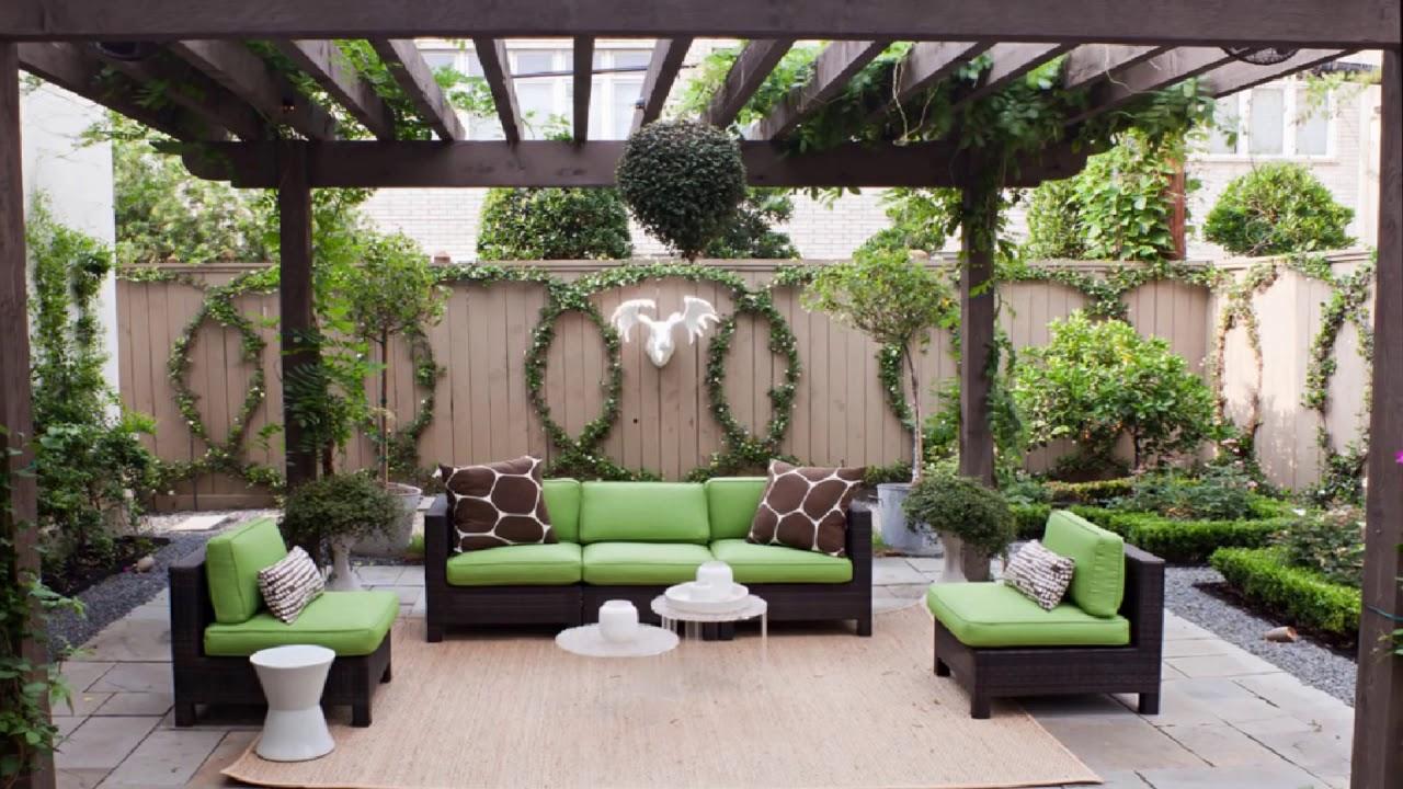 صورة ديكورات حدائق منزلية صغيرة , جدد حديقة منزلك بشكل انيق ومميز