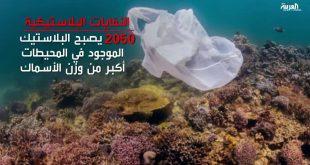 صورة اكتب فقرات عن ملوث من ملوثات البيئة النفايات , اضرار البلاستيك على البيئة و الانسان