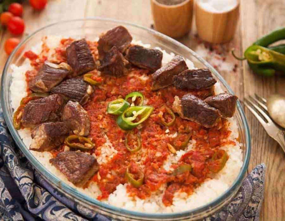 صورة طريقة الفتة المصرية , احلى طعم واسهل وصفة