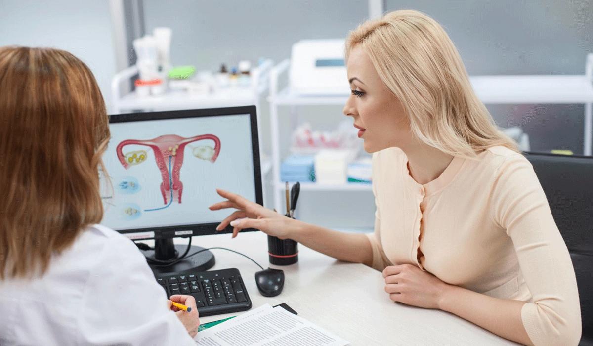 صورة انواع الافرازات عند المراة , علاج الافرازات بطريقة طبية 5870