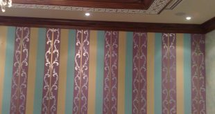 صورة الوان حوائط ريسبشن , احدث صيحات الموضة في الديكور