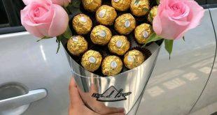 صورة سحر الورد في العلاقات , بوكيه ورد وردي