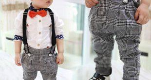 صورة ملابس اولاد 2019 ، تصاميم رائعه للصيف و الربيع مميزة جدا