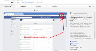 صورة طريقة سهله لحذف بوستات الفيس , طريقة حذف منشورات الفيس بوك