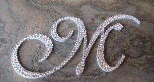 صورة اجمل حروف ال M , اشكال على حرف m
