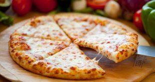 صورة اطعم و اجمل بيتزا ممكن تكليها في حياتك , طريقة عمل البيتزا بالجبنة البيضاء
