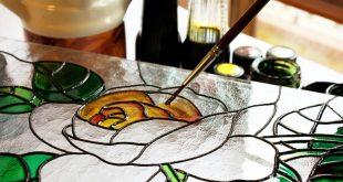 رسومات الرسم على الزجاج